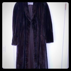 Jackets & Blazers - Full length mink coat